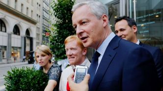 Bruno Le Maire entame son opération séduction à Wall Street