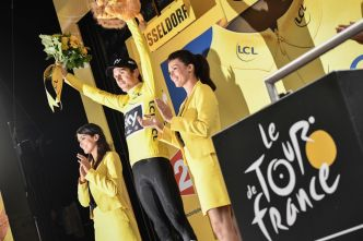 Tour de France. Geraint Thomas premier maillot jaune