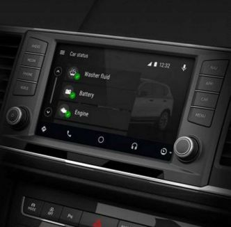 L'application Seat Android Auto disponible sous sur Play Store.