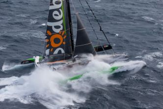 Thomas Coville officialise sa tentative de record sur l'Atlantique nord