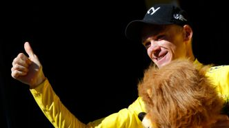 Chris Froome reprend le maillot jaune