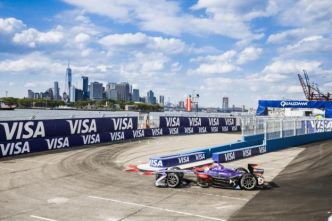 Auto - Formule E - Sam Bird (DS Virgin Racing) remporte la première course à New York
