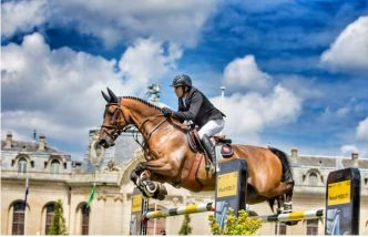Equitation - Equitation: Guillaume Canet s'impose à Chantilly
