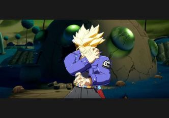 Trunks se montre dans Dragon Ball FighterZ