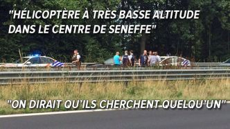 Seneffe: Une course-poursuite se termine par un accident sur la E19
