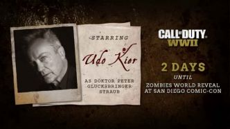 Call of Duty WWII : le casting zombie