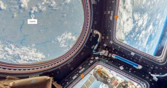 La Station spatiale internationale maintenant dans Google Street View