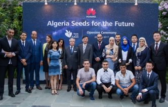 Dix étudiants algériens à Pékin pour le cycle de formation Huawei «Seeds for the Future»