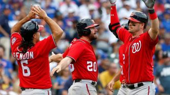 Nationals : Wieters frappe un grand coup