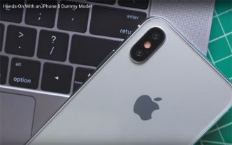 L'iPhone 8 d'Apple nu et en 3D sur Internet ?