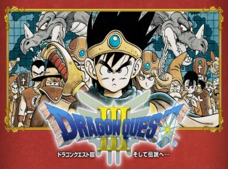 Dragon Quest III daté au Japon…
