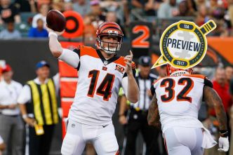 Preview NFL 2017 : Cincinnati Bengals