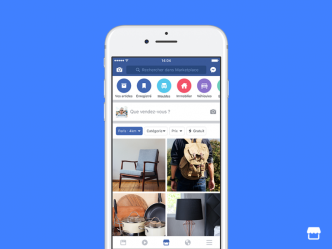 Facebook lance son Marketplace en France