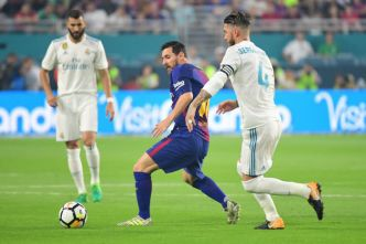 Real Madrid – Barça : Ramos chambre et Messi l'insulte