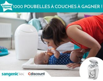 Magic Maman : 1 000 poubelles à couches Tommee Tippee à gagner