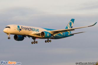 Airbus A350 French blue (Image)
