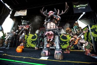 GWAR dévoile les détails de son nouvel album 'The Blood of Gods'
