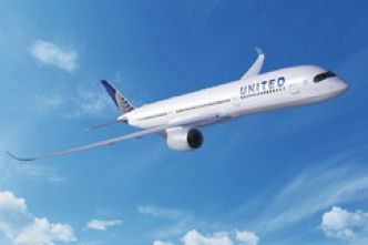 Airbus A350-900 United Airlines (Image)
