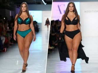 Fashion Week de New York : Ashley Graham se dénude encore pour Addition Elle !