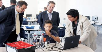 George Washington Academy inaugure un centre de technologie au sein de son campus