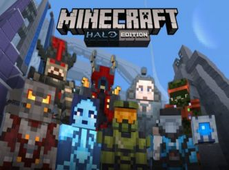 Minecraft, le pack Halo sortira sur Switch…