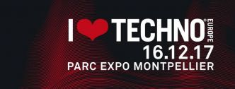 2 x 2 places à gagner - I Love Techno Europe 2017 @ Montpellier le 16/12/2017