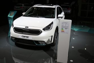Kia Niro PhEV : branché - En direct du salon de Francfort