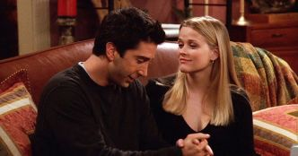 On t'a vue: Reese Witherspoon pécho Ross dans Friends