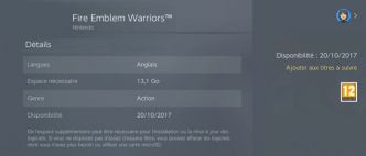 Fire Emblem Warriors :  disponible uniquement en anglais ?