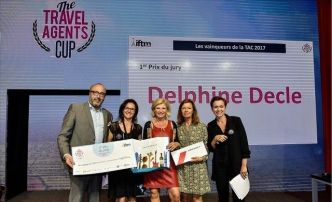 Delphine Decle a remporté la Travel Agents Cup 2017 à Top Résa