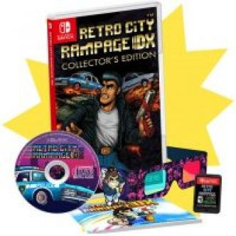Retro City Rampage DX édition collector (Switch) [Préco, US, VF] à 60.99$ (environ 52€)