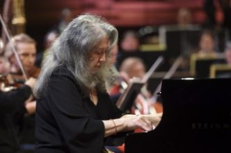 Sublime Martha Argerich avec l'Orchestre national de France