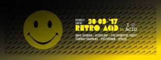 BE - Retro Acid X I Love Acid @ Vooruit le 30/09/2017
