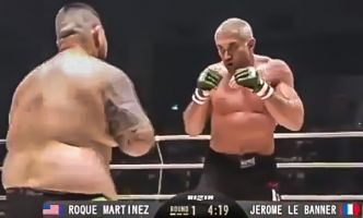 RIZIN - Jerome LE BANNER s'incline avant la limite - VIDEO