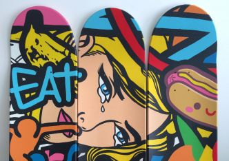 #BoardsToBeSolidaire, quand SkateBoard et Street Art sont solidaires !