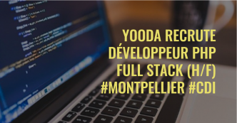 Offre d'emploi CDI – Développeur PHP Full Stack (H/F)