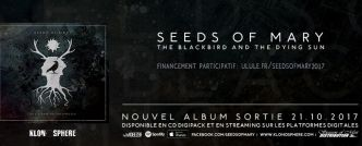 Chronique : Seeds Of Mary « The Blackbird and The Dying Sun »