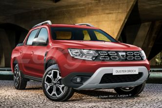 Dacia Duster Oroch : le nouveau Duster en version pick-up en Europe ?