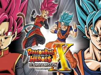 Dragon Ball Heroes: Ultimate Mission X en images…