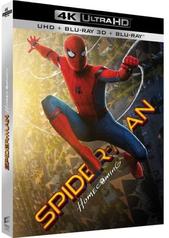 Test Blu-ray : Spiderman Homecoming