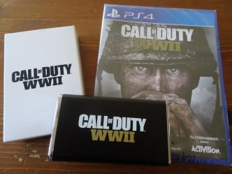 [Goodies] Une batterie Call of duty WWII