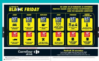 Carrefour hyper et super  : catalogue BLACK FRIDAY … des super promos