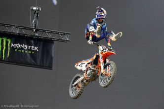 Supercross de Paris : retour triomphant dans la capitale