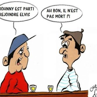 Johnny rejoint Elvis...