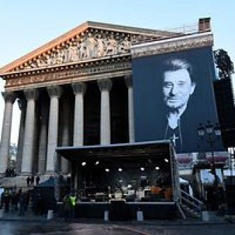 France: Motos et rock'n'roll: l'adieu des fans de Johnny à leur idole