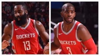 Le duo James Harden – Chris Paul, c'est du lourd dans le money-time !