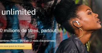 Amazon Music Unilimited est finalement disponible en France
