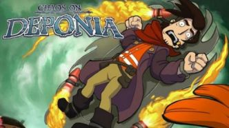 TEST de Chaos on Deponia : Du clic au pad
