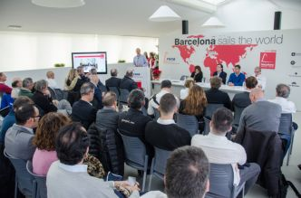 Lancement de la Barcelona World Race 2019