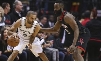 Basket - NBA - Houston écrase San Antonio, Boston se rate